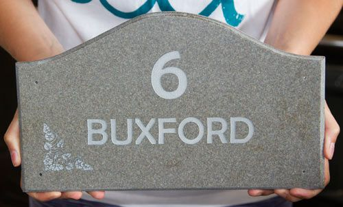 Shaped Corian House Signs / Name Plates| The Sign Maker Shop
